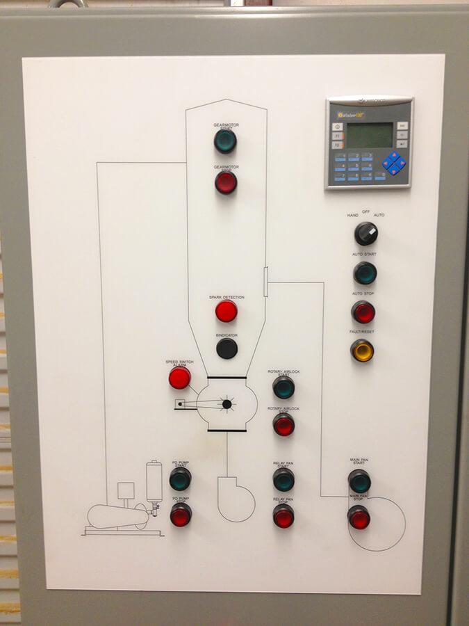 Motor Control Panels Dust Cops Dust Collection