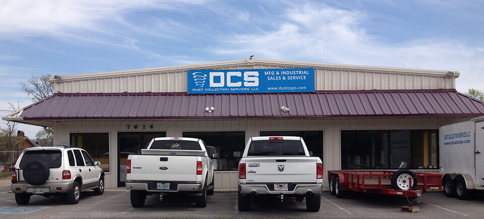 Dust Collection Services LLC's Shop in Knoxville, TN