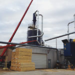 Cyclone Dust Collector on top of a Silo by Dust Collection Services LLC