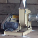 Fan for Dust Collection System supplied and installed by DCS LLC