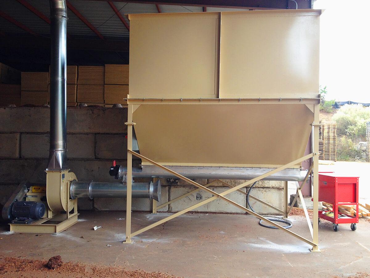 Hopper Loading Dust Cops Dust Collection Services Llc
