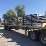 Trailer load of DCS Zipper duct going out to a client.